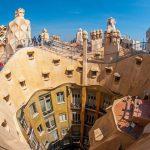 Architecture Gaudi Casa Milà Barcelone